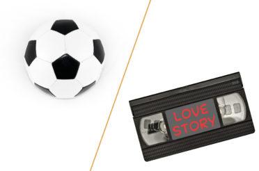 Fußball oder Spielfilm?